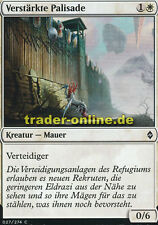 4x Verstärkte Palisade (Fortified Rampart) Battle for Zendikar Magic