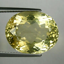 13.67 ct  LUSTROUS  BEST  YELLOW NATURAL LABRADORITE / ANDESINE OVAL  !