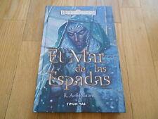 libro fantasía - EL MAR DE LAS ESPADAS - Reinos Olvidados Timun Mas - Salvatore