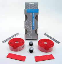 SHIMANO PRO ROAD BIKE SMART SILICONE HANDLEBAR TAPE BICYCLE BAR WRAP RED