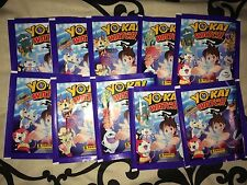 10 Packets Packs of Yo-Kai Watch Stickers Panini Party Bag Filler