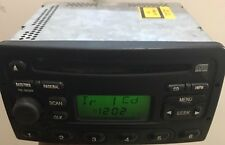 2000 2001 2002 FORD FOCUS STEREO AM/FM RADIO SINGLE DISC CD PLAYER OEM