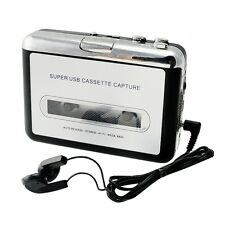 Portable USB Cassette Tape to MP3 iPod CD Converter Capture Audio Music Player O