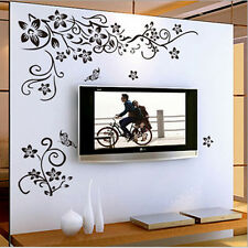 1x Flower Fad Removable Art Vinyl Quote Wall Sticker Decal Mural Home Room Decor