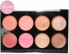 Technic CREAM BRONZER & BLUSHER PALETTE Blush Kit Set Peach Pink Bronze Makeup