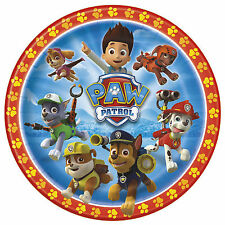 """8 Paw Patrol Rescue Puppy Pets Childrens Birthday Party 9"""" Paper Plates"""