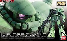 Gundam MS-06F Zaku 2 RG 04 Real Grade 1/144 Model Figure Kit Bandai Zeon