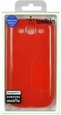 Belkin Samsung Galaxy S3 Grip Sheer Silicone - Red