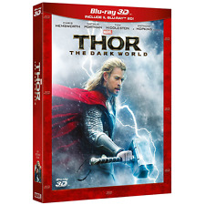 Blu-ray *** THOR The Dark World (Br 3D+ 2D) *** sigillato