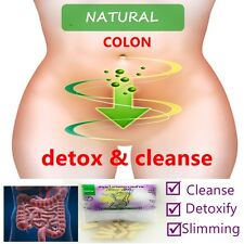 COLON CLEANSE DETOX LOSE WEIGHT FAT BURNING SLMMING 100 CAPS ALL HERBS