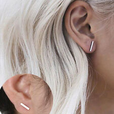 HOT Punk Earings Simple T Bar Earrings Women Ear Stud Earrings Chic Jewelry Club