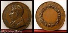 c 1870 R Médaille Cuivre Société Horticulture Loire Mathieu de Dombasle