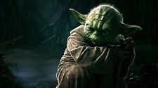 "Star Wars Yoda - 42"" x 24"" LARGE WALL POSTER PRINT NEW"