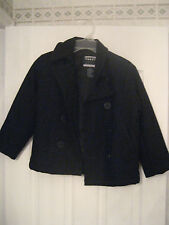 FRENCH TOAST OFFICIAL SCHOOL WEAR DARK NAVY BLUE PEACOAT JACKET SIZE 7-BOYS