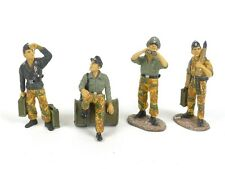 King & Country WS016 Waffen SS Four Figure Tank Crew German World War II