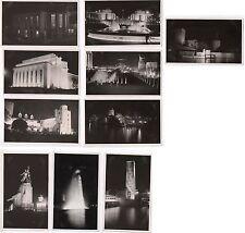 Lot 10 PHOTOS Exposition Coloniale Internationale 1937 Île de France URSS Alsace