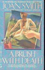 Brush with Death by Joan Smith (1990, Paperback)
