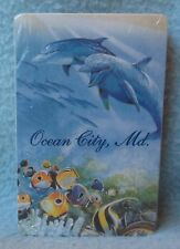 DOLPHINS OCEAN CITY MARYLAND SEALED PLAYING CARDS