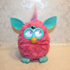 2012 Hasbro FURBY Interactive Talking PINK & TEAL Purple *Tested & WORKING*