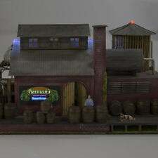 Menards ~ HO Gauge Herman's Sauerkraut Factory