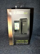 Duracell PowerMat Wireless Case for iPhone 4/4S - Model RCA4B1 Black NEW