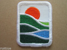 Canada Canadian Boy Scouts Scouting Woven Cloth Patch Badge