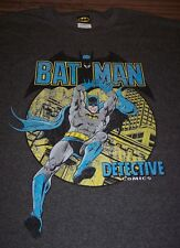 VINTAGE STYLE BATMAN Detective Comics Dc Comics T-Shirt LARGE NEW