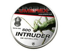 UMAREX INTRUDER 4.5 MM CAL. .177 500 PCS. 0.53 G GRAIN AIRGUN PELLETS AIR RIFLE