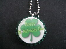 "1"" Bottle Cap Image Necklace ~ St Patrick Day ~ Handcrafted ~ **Gift Idea"