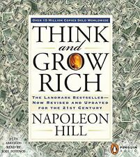 Think and Grow Rich by Napoleon Hill (AudioBook, CD,Ebook Combo Abridged)