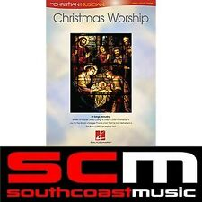 CHRISTMAS SONG WORSHIP BOOK PIANO VOCAL GUITAR 30 SONGS XMAS SONGBOOK PVG