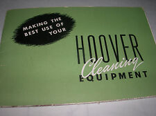 HOOVER Cleaning Equipment 1947  Products  Brochure & Fold out