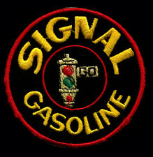 Signal Gasoline Patch Hot Rod Motor Oil Gas Station
