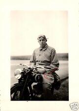 16671/ Originalfoto 7x10cm, Oldtimer-Motorrad, DKW RT 125, ca. 1940