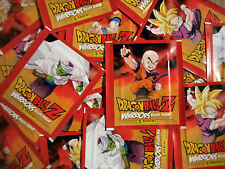 Panini Dragonball Z Warriors -  50 Tüten - 250 Sticker Neu