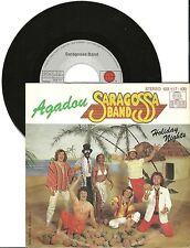 "Saragossa Band, Agadou, G/VG+ 7"" Single 0414"