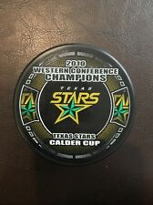 2010 Western Conference Champion Texas Stars Calder Cup Hockey Puck