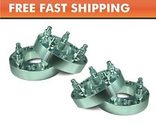 """4 Pcs Wheel Adapters 5x5.5 to 5x5.5 ¦ Dodge Ram 1500 1.25"""" Spacers 9/16"""" Forged"""