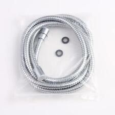 New Flexible Stainless Steel Chrome Bathroom Bath Shower Water Hose Pipe 2.5m