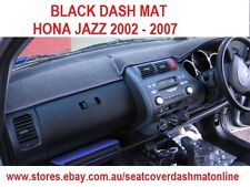 BLACK DASH MAT, DASHMAT, HONDA JAZZ 2002 - 2007, BLACK