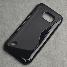 For Samsung Galaxy S6 Active G890 Black Skidproof Gel skin case Cover