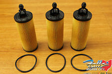 2014-16 Chrysler Jeep Dodge RAM 3.2L 3.6L V6 Pentastar Oil Filter Set of 3 Mopar
