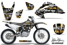 Honda CRF 150/230F Graphic Kit AMR Racing Decal Sticker Part 03-07 SILVERHAZE Y