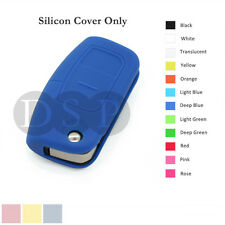 Silicone Cover fit for FORD Focus Mondeo Fiest Remote Key Fob Case 3 Button DB
