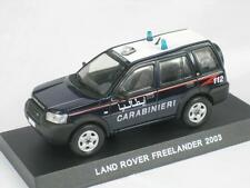 LAND ROVER FREELANDER 2003 CARABINIERI IRAQ WAR 1:43 DEAGOSTINI CB80 NEW MODEL