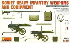 MINIART 35170 soviet heavy infantry weapons & Equipment-russe d'armes 1:35