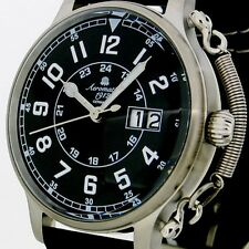 BIG-DATE Habicht German RETRO AVIATOR Feather Crown protection A1290