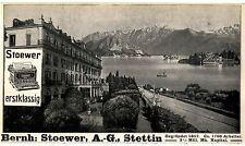 Bernh. Stoewer A. G. Stettin Stoewer Schreibmaschine Histor. Annonce 1907