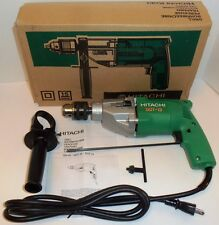 "New Hitachi 1/2"" Two Speed Corded Drill 110V NIB1050/min 1800/min DUT-13   DUT13"
