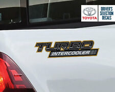 Toyota Hilux Turbo Intercooler 4x4 TRD side sticker decals graphics